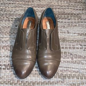 Real genuine leather Clark (halogen) shoes